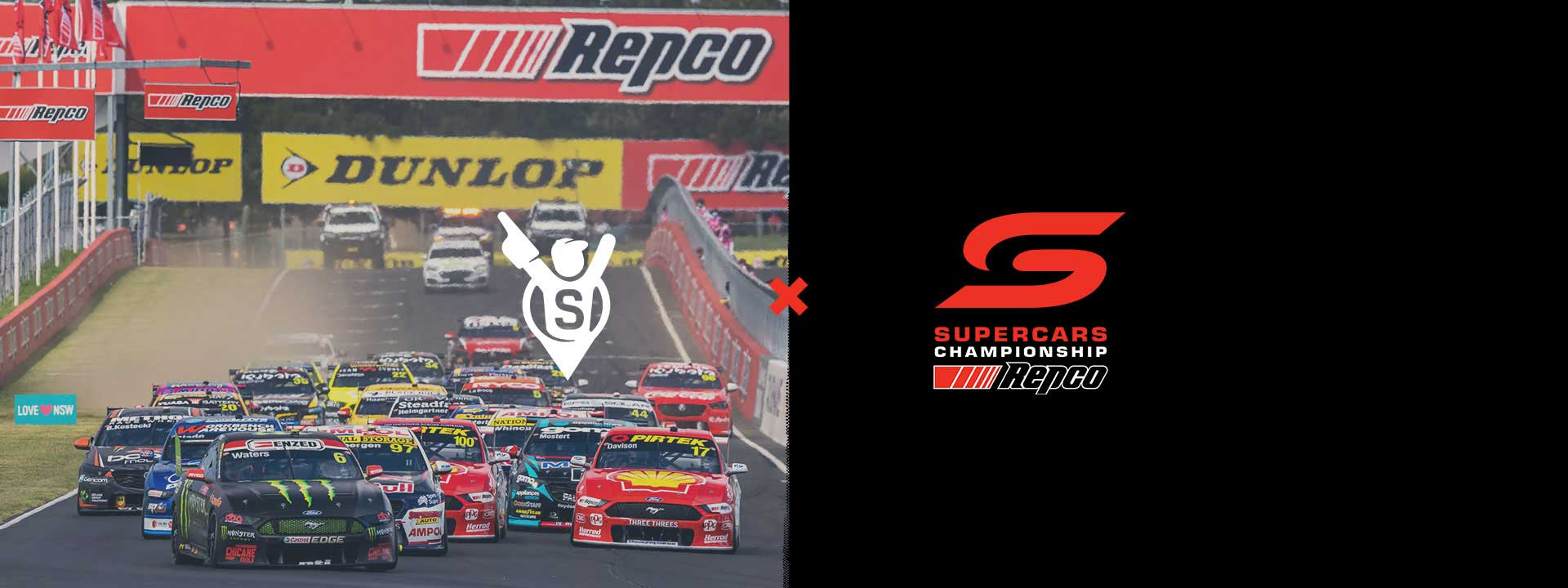 Sports Where I Am are an official on-seller for the Repco Supercars Championship